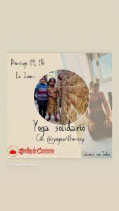 Yoga Solidario : Masterclass Online
